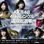 日刊スポーツ『AKB48 49thシングル選抜総選挙』連載 掲載メンバー一覧